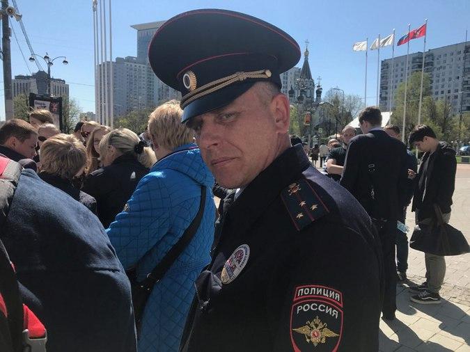 Полиция якобы пытается помешать сходу жителей