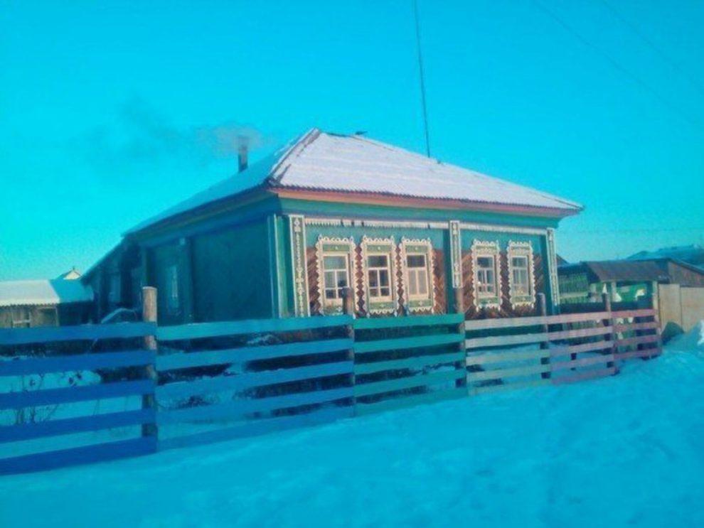Дом, в котором родился Ельцин, до пожара