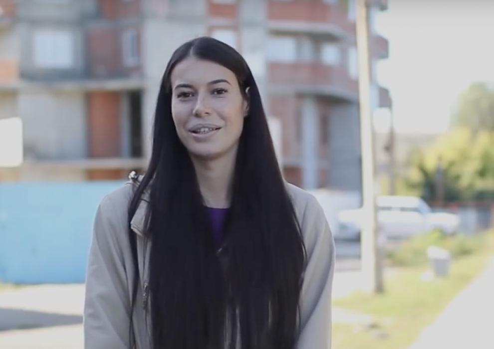 Наталия Мамлина: кадр из видео