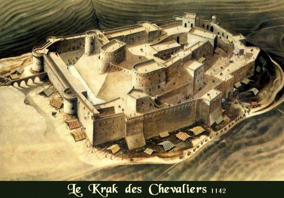 Крепость Крак-де-Шевалье