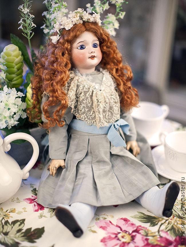 фарфоровая французская кукла