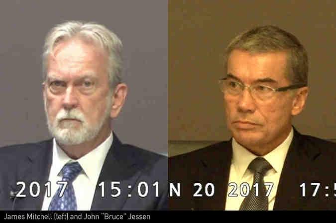 Джеймс Митчелл (слева) и Брюс Джессен — создатели «усовершенствованных методов допроса»