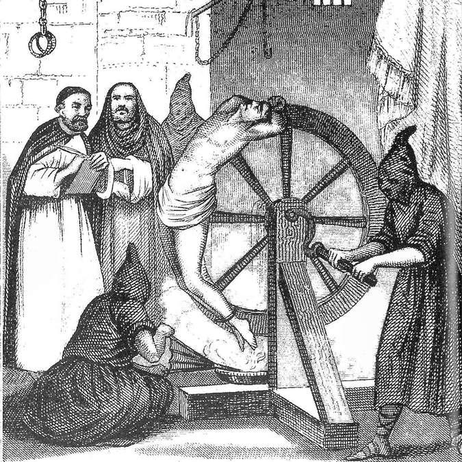 пытки по законам инквизиции