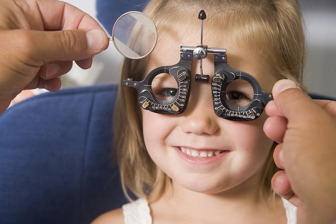 Подбор очков ребенку