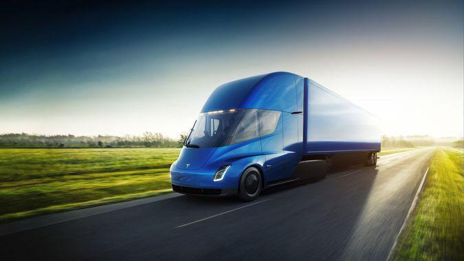 грузовик Tesla Semi