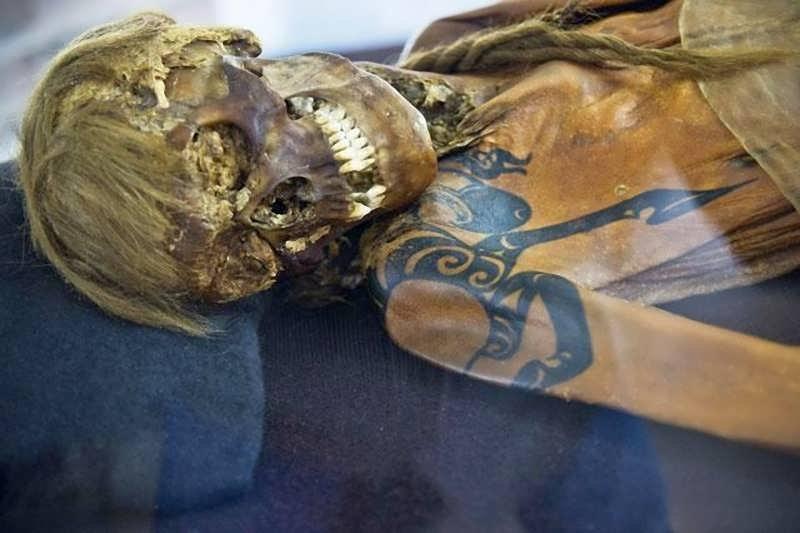 мумия алтайская
