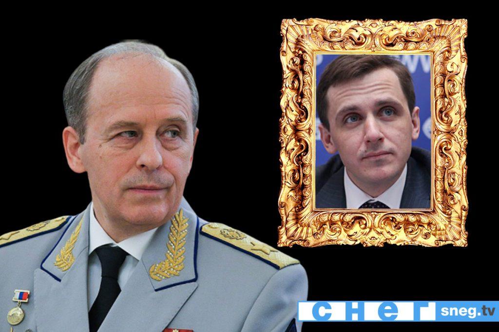 На фото Александр Бортников с сыном Денисом Бортниковым
