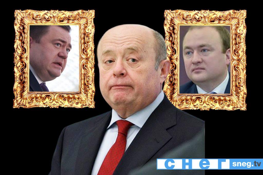 На фото Михаил Фрадков с сыновьями Петром Фрадковым и Павлом Фрадковым