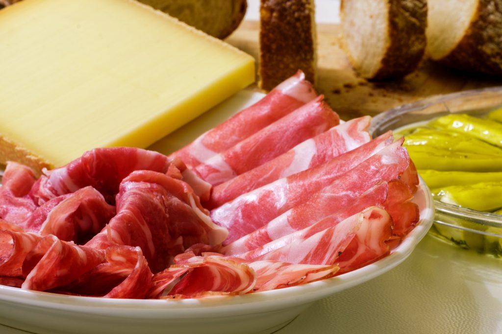 сыр мясо